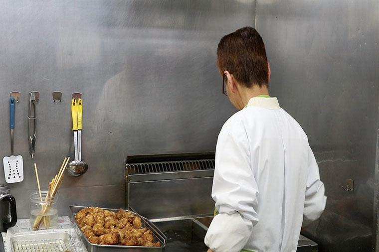 潮田鶏のカラアゲ3