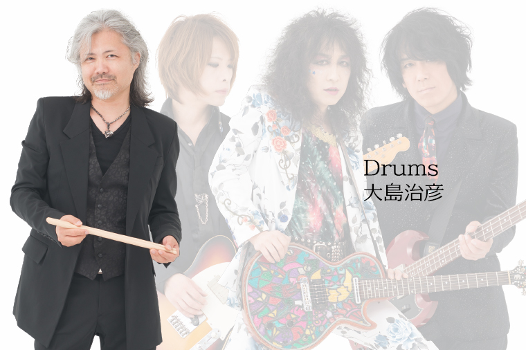 column #1 Drums:大島治彦