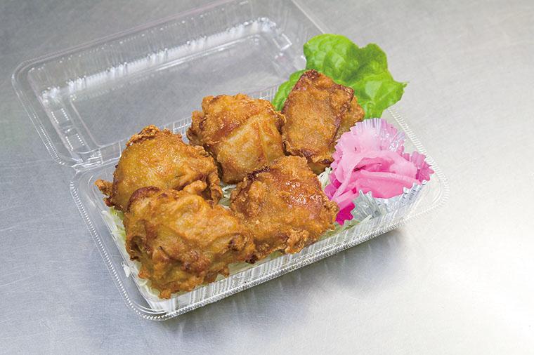 潮田鶏のカラアゲ