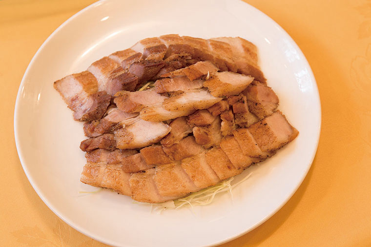 豚塩カルビの香味揚げ1